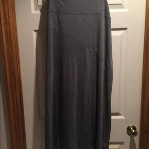 Sz 1x Tall- Grey Maxi