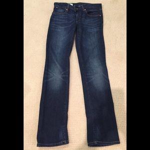 Gap boyfriend jeans.