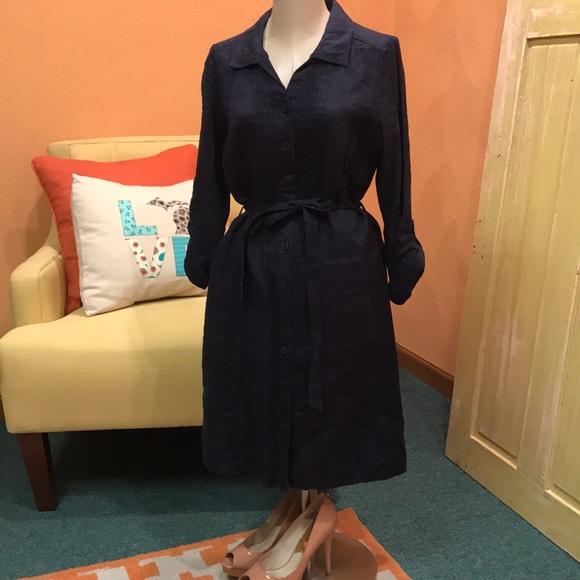 highly praised vast selection drop shipping Boden Linen shirt dress