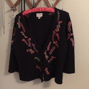 Beautiful Hand Embroidered Sweater