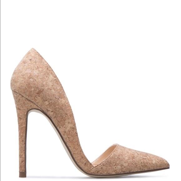 ab469e9c3 ShoeDazzle Shoes   Darci Cork Pumps Sz 8   Poshmark