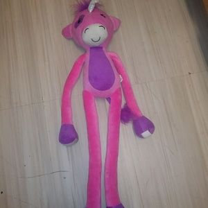 Other Stretchkins Unicorn Lifesize Plush Toy In Pink Poshmark