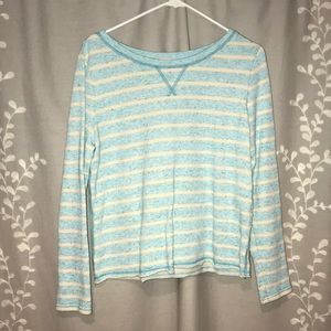 Gap loose crop sweatshirt