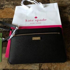 New Kate Spade Black Wristlet