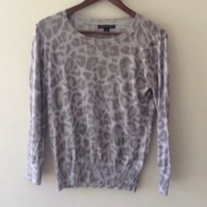 Banana Republic Animal Print Sweater