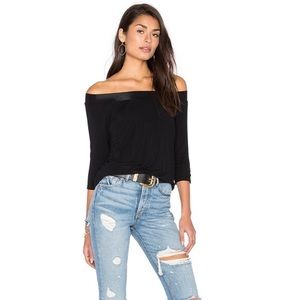 Michael Stars off the shoulder Blouse One Size