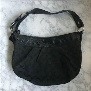 GUARANTEED AUTH COACH BAG BLACK/BLACK