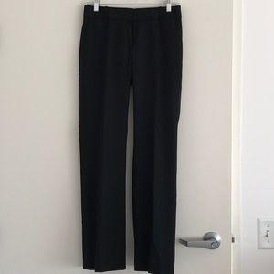 J Crew Black Super 120's Suit Pants size 0