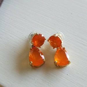 Kate spade orange earrings