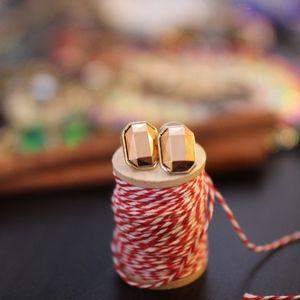 Night Before Copper Jewel Earrings