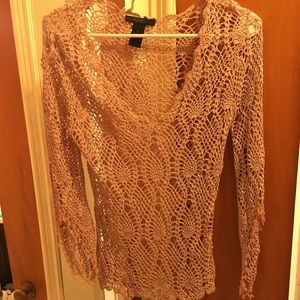 The limited hand knit top