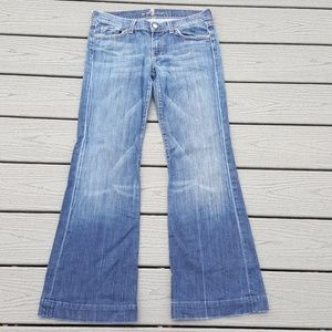 7 For All Mankind Dojo Blue Jeans