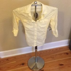 Women's James Perse Slub Side Pannel Shirt, Sz. 0