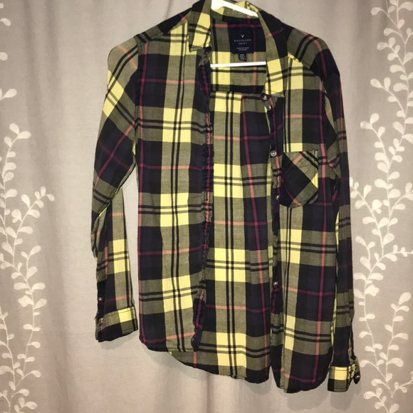 American Eagle Outfitters Tops - American Eagle Boyfriend shirt