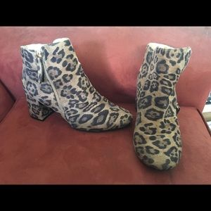 New Look Leopard Print Ankle Boots