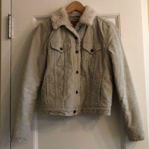 Levi's Corduroy Sherpa Jacket