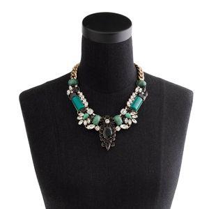 J. Crew Crystal-encrusted collar necklace😍