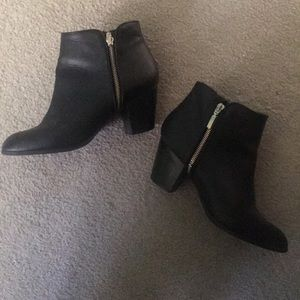 Style & Co Black Ankle Booties - 9.5
