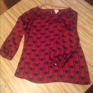 Women's blouse, size small