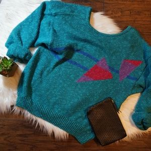 """Authentic vintage """"90's"""" sweater! Crop sweater"""