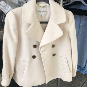 Banana republic white coat