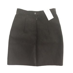 Real Suede Skirt by American Apparel-New with tags