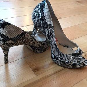 Marc Fisher snakeskin heels
