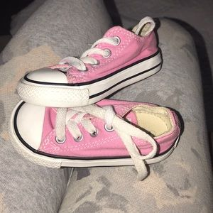 Other - Pink Converse Size 5C