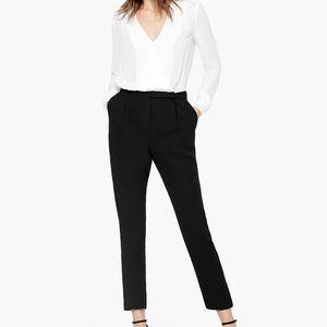 NEW MANGO Black&White Long Sleeve Jumpsuit