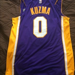 promo code 05b5d 46e0d New Kyle Kuzma Los Angeles Lakers LA Jersey Nike NWT