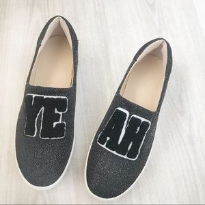 "Zara Platform ""Yeah"" Sneakers"