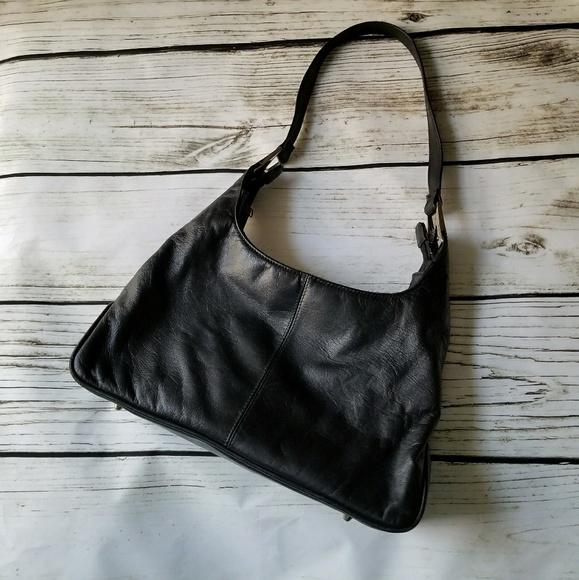 e253fa10287f Laura Scott Handbags - Laura Scott black shoulder hobo bag medium classic