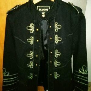 NWT BLANKNYC Military Jacket