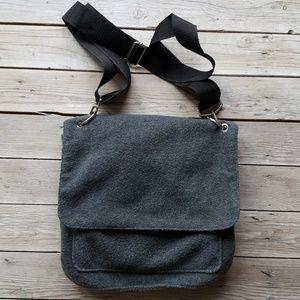 Fleece Crossbody Bag