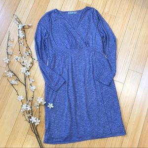 ATHLETA blue space dyed soft dress, MP.