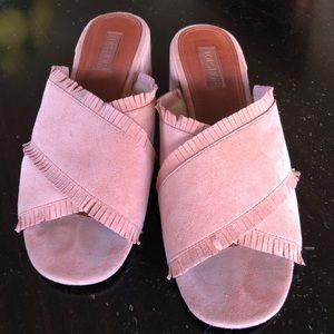 Topshop Nancy pink slides