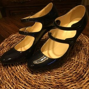 J Crew patent leather shoes