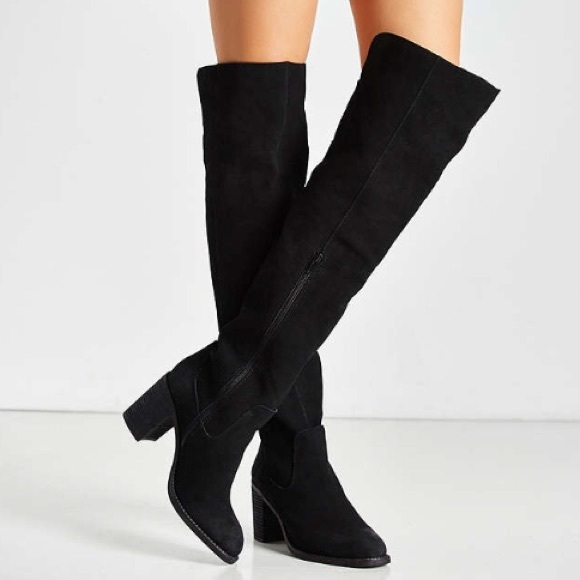 91946111a81 Jeffrey Campbell Shoes - Jeffrey Campbell Raylan over the knee boots size 8