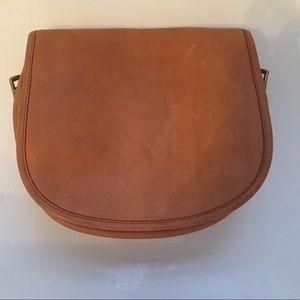 NWT JCrew Camel Leather Bag/Purse