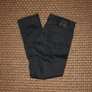 Levi's 511 slim stretch jeans. Grey. 30x30