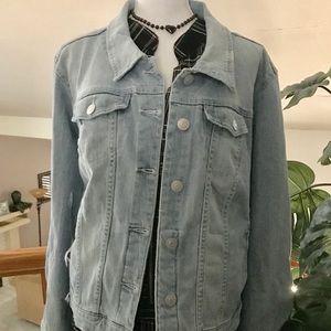 Preloved Light Blue Jean Jacket!
