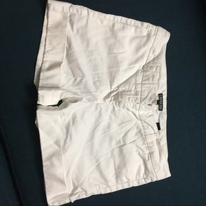 White Express Shorts
