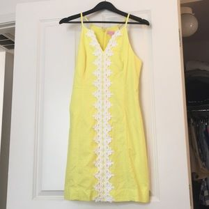 Lilly Pulitzer Crochet Front Dress