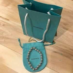 Tiffany & Co silver bead bracelet