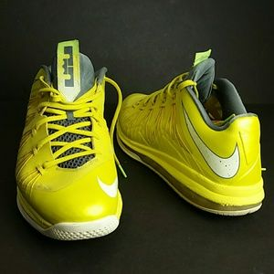 NIKE AIR MAX LEBRON 10 X LOW MEN'S SHOES