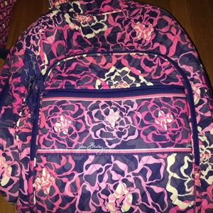 Vera Bradley Campus backpack. Catalina Pink.
