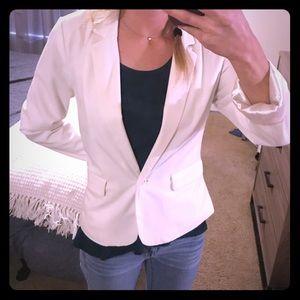 White/ivory blazer