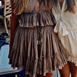 200 degree taupe set. Skirt only