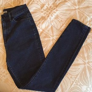 Urban Outfitters Dark Wash High Rise Jeans