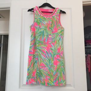 Lilly Pulitzer Palm Print dress